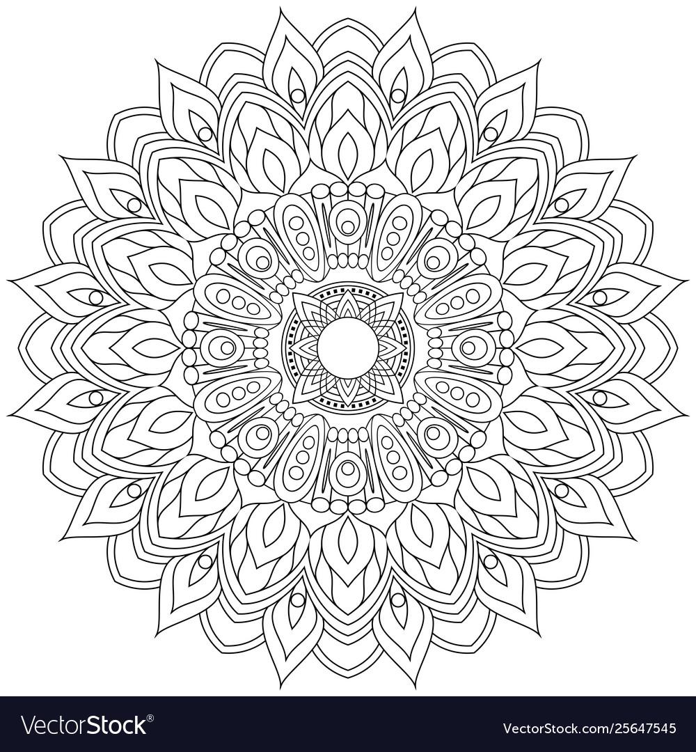 Mandala vintage decorative elements
