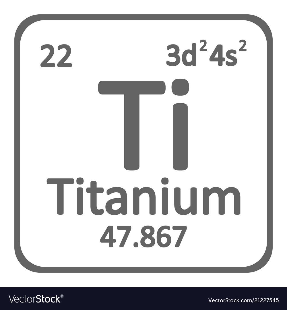 Titanium Element Symbol Topsimages