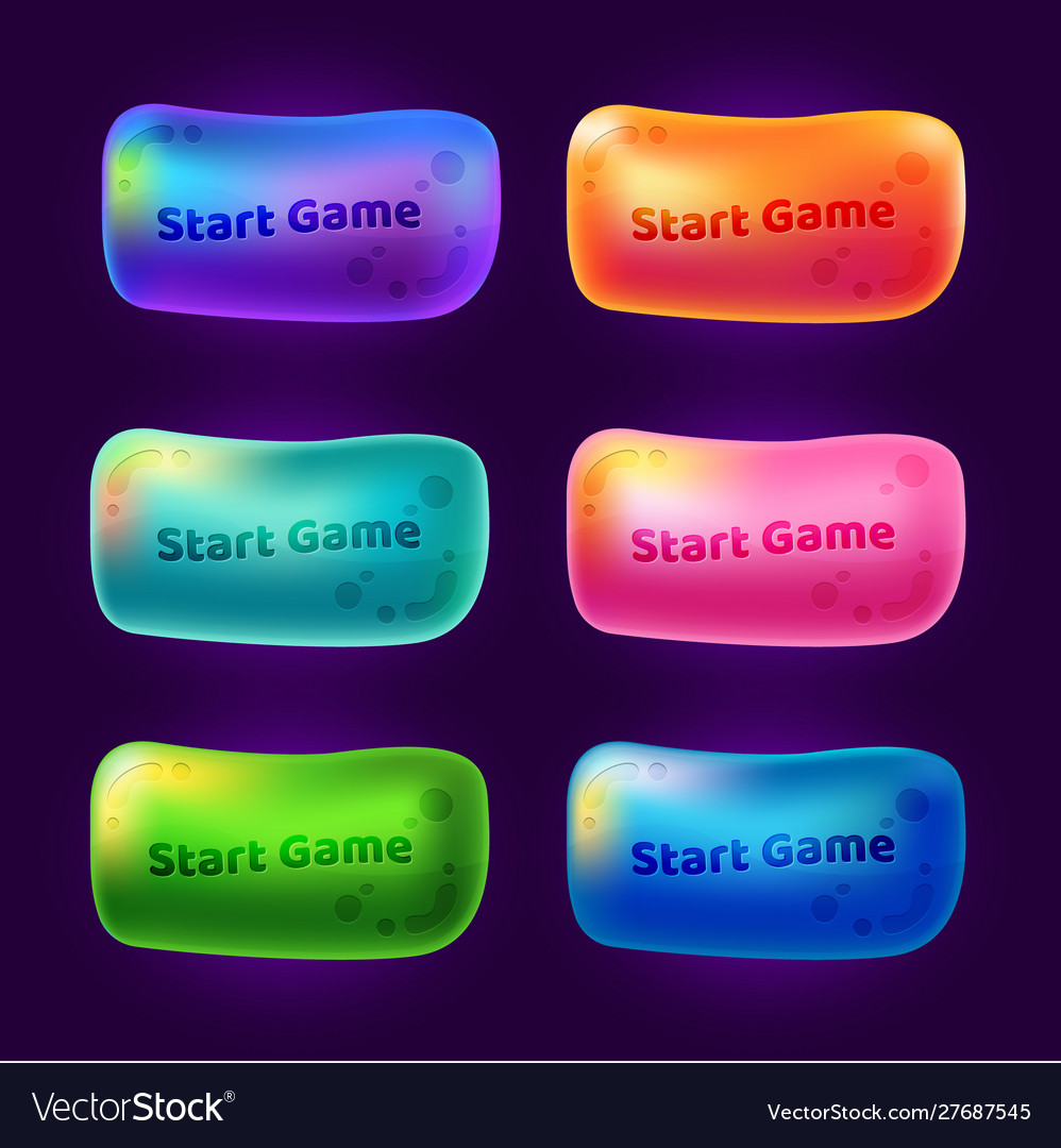Set 3 start game buttons for arcade video games