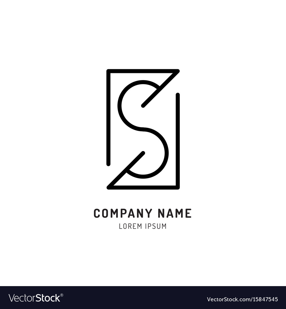 Set s logo design
