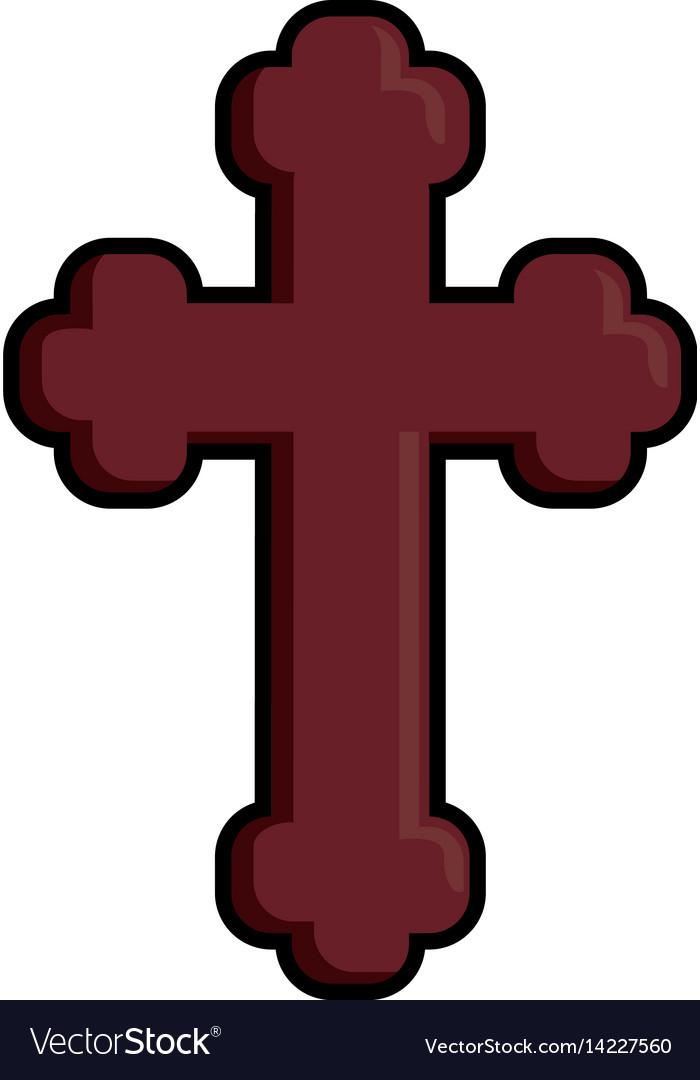 Catholic religion icon