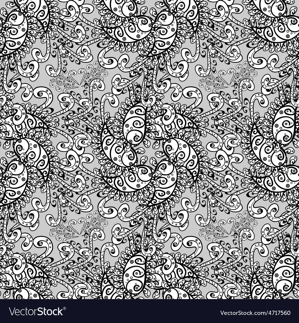 Damask seamless pattern for design