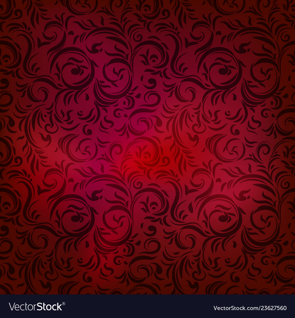Red repeating pattern