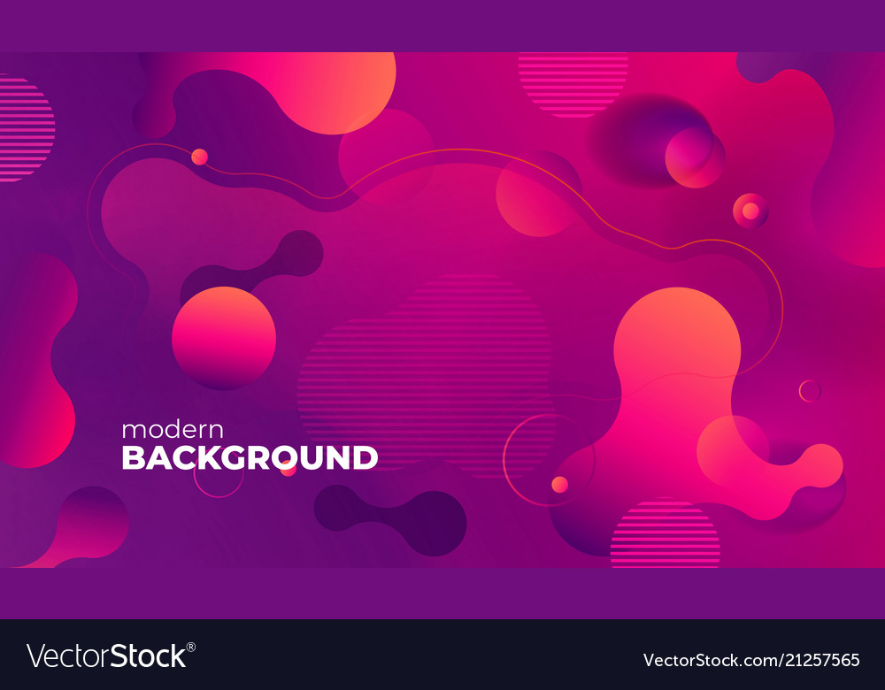 Colorful geometric background pattern fluid