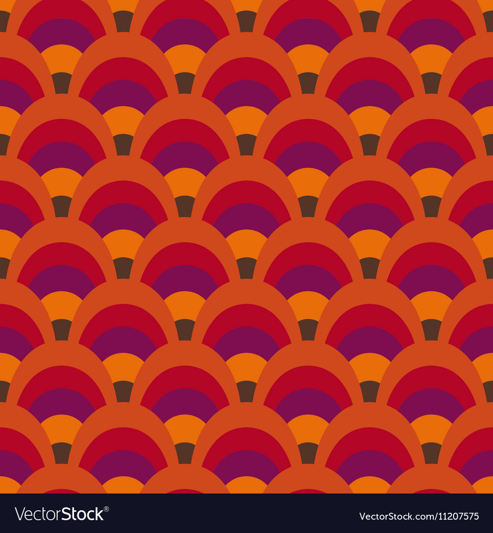 Retro inspired pattern