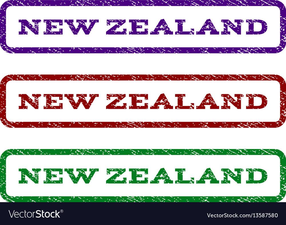 New zealand watermark stamp