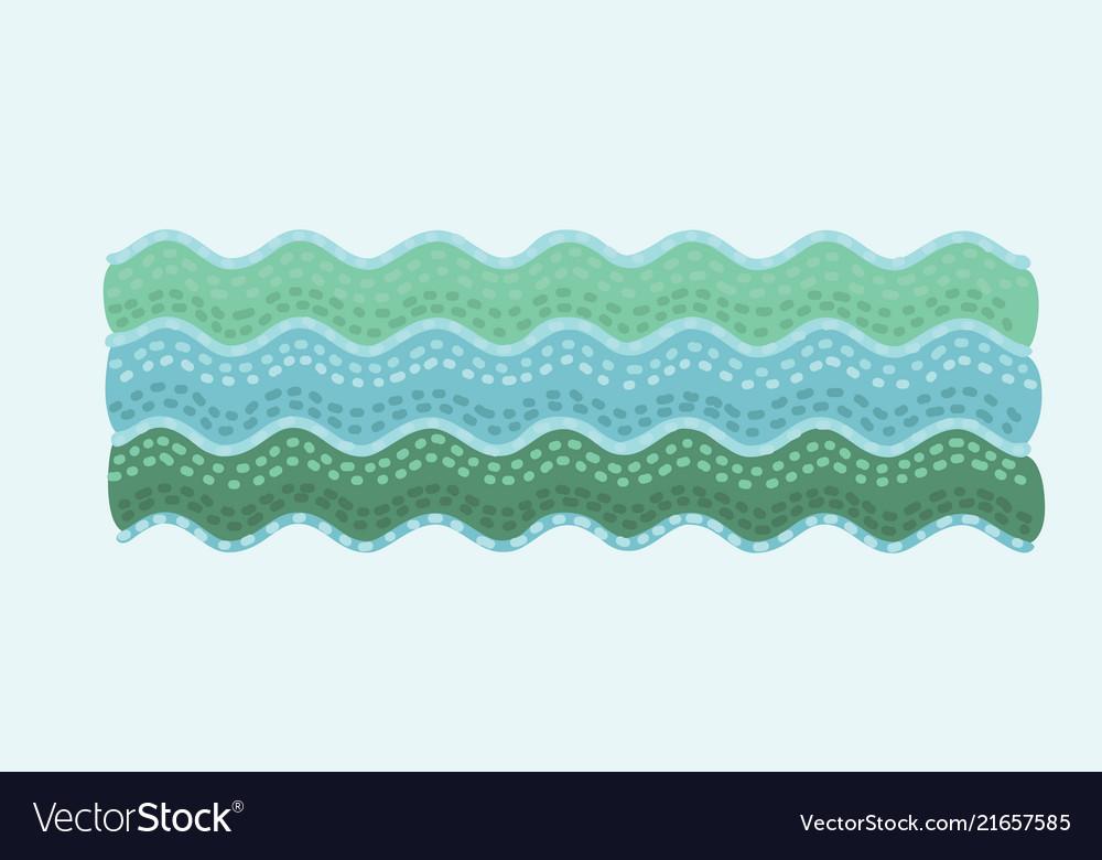 Cute marine waves sea