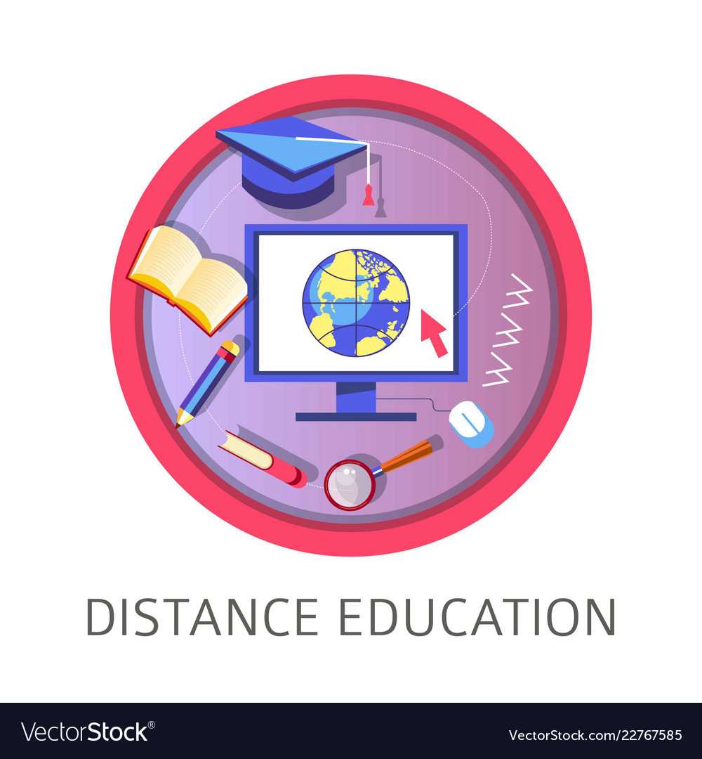 Distance education obtaining knowledge with help