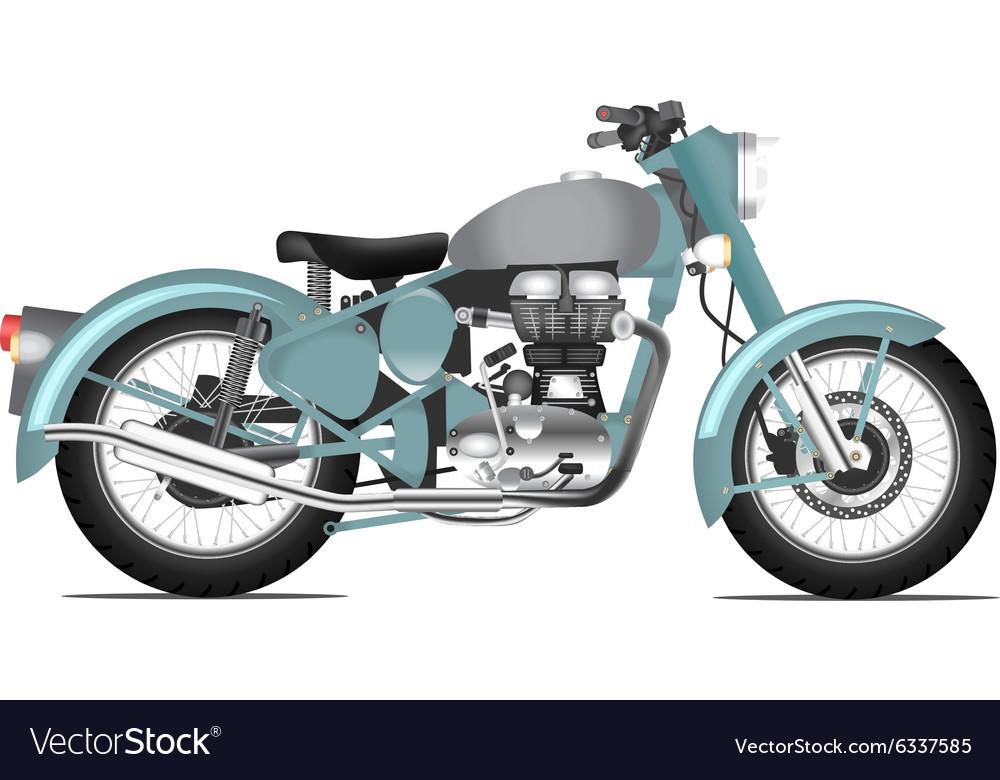 Motorbyke retro style