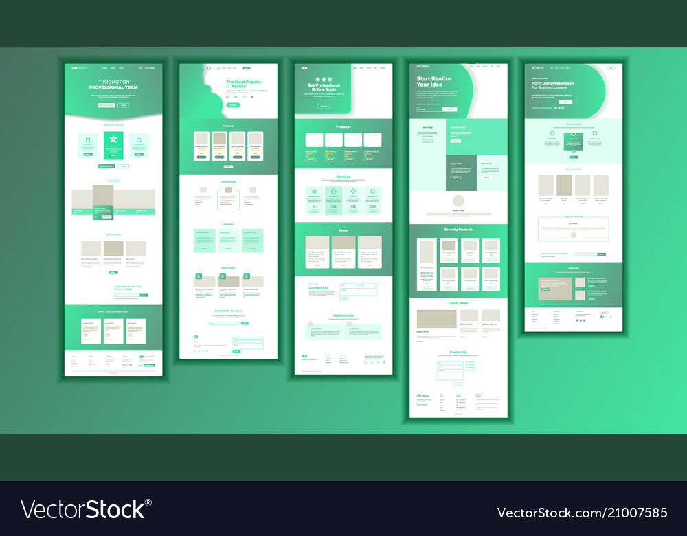 Website page business website web page