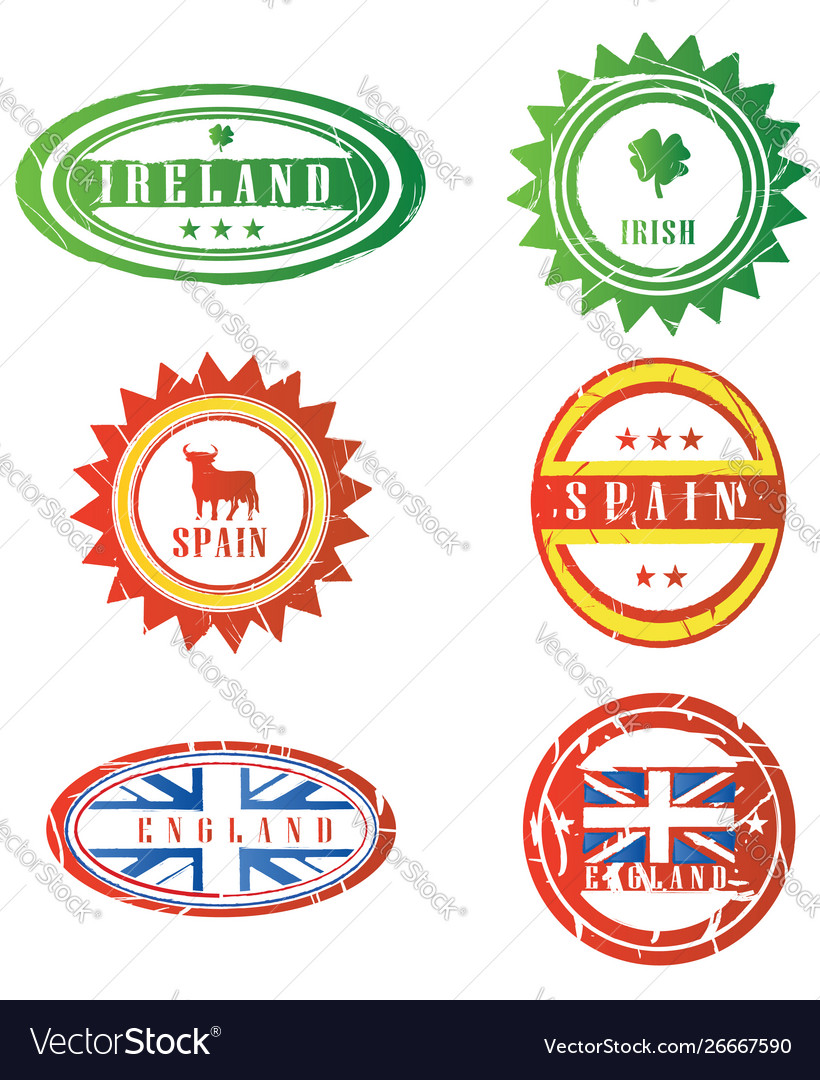 European rubber stamps