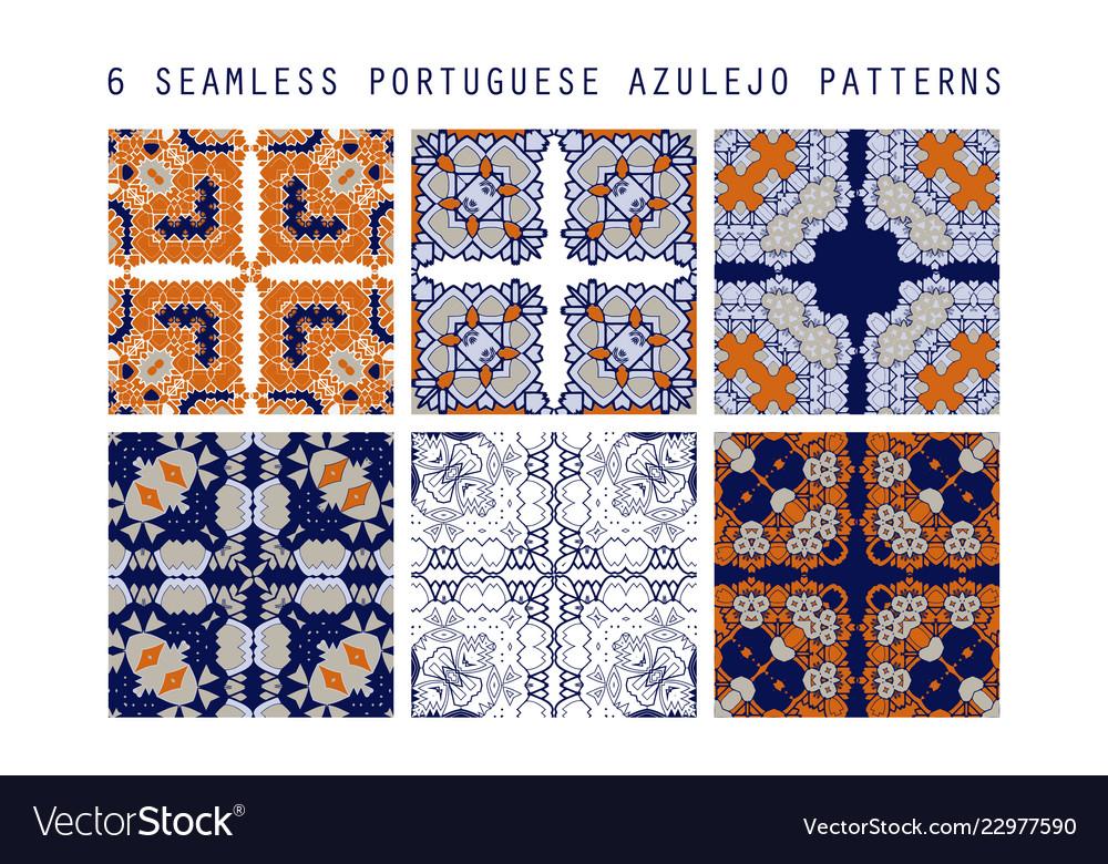 Traditional ornate portuguese decorativ