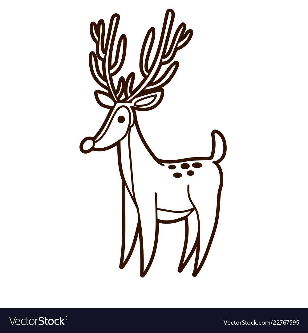 Deer graphic