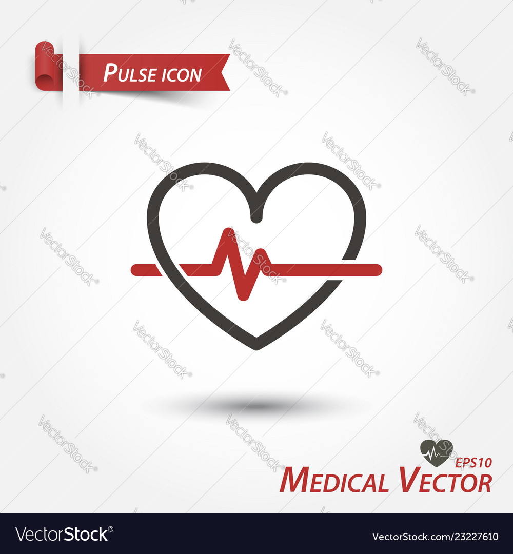 Pulse icon medical