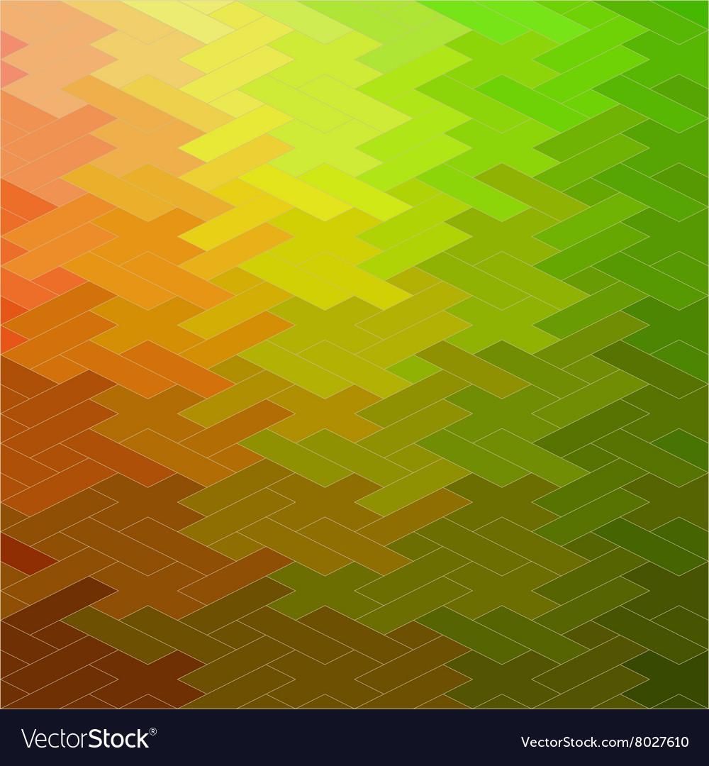 Retro seamless pattern of geometric shapes