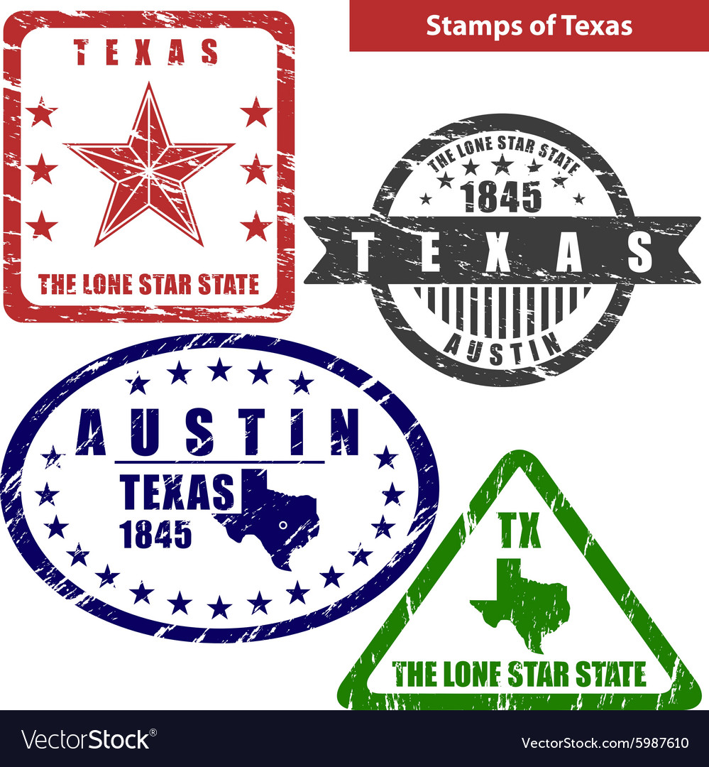 Texas State Seal Vector Images 39