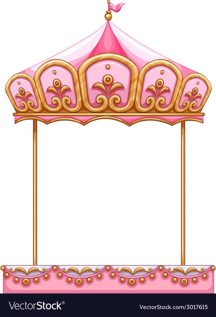 Pink Carousel Horse Vector Images 58