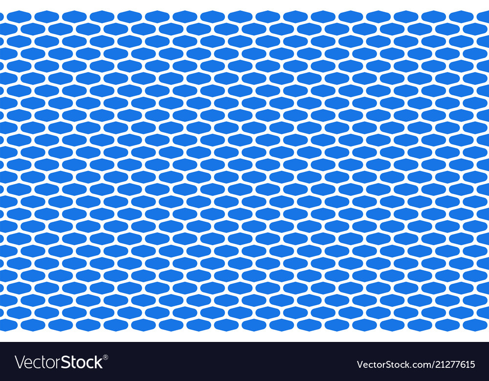 Abstract pattern white net on blue