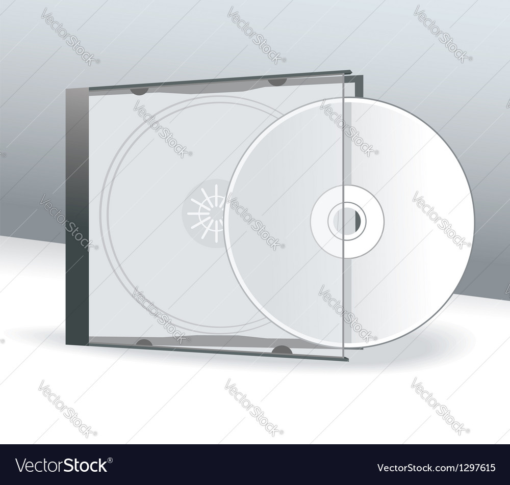 template for cd case
