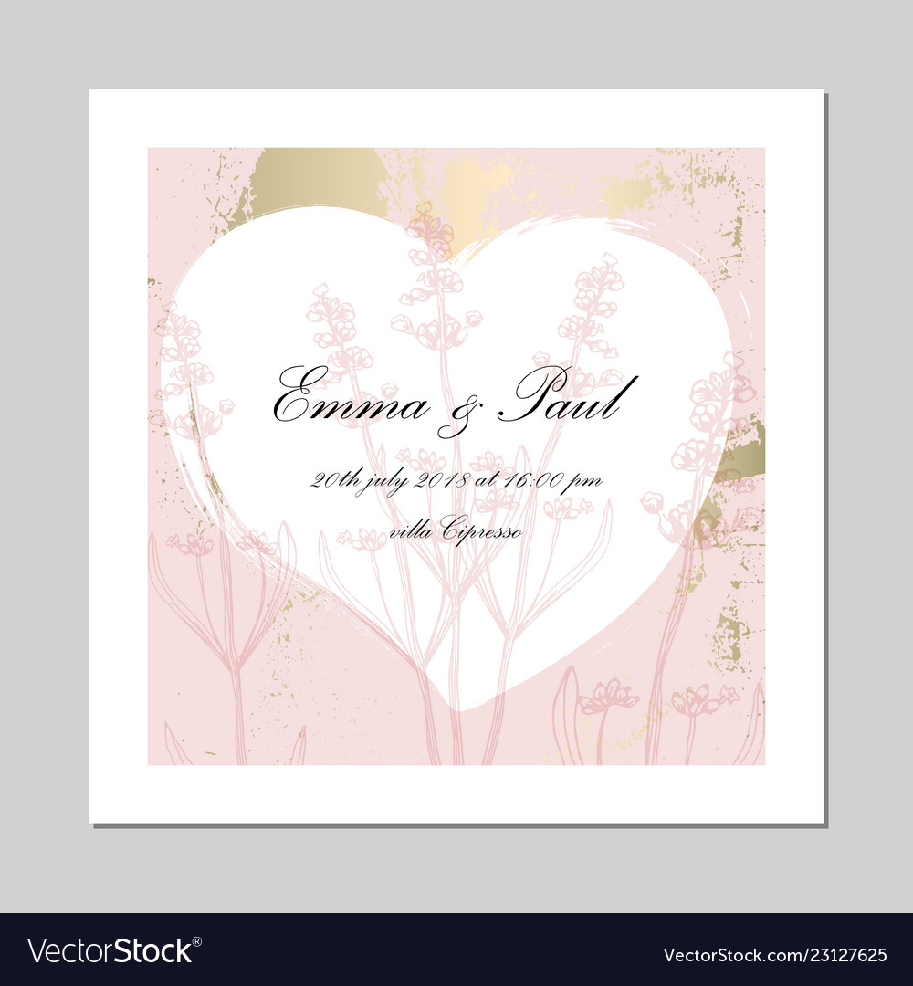 Set of trendy romantic elegant pastel blue gold