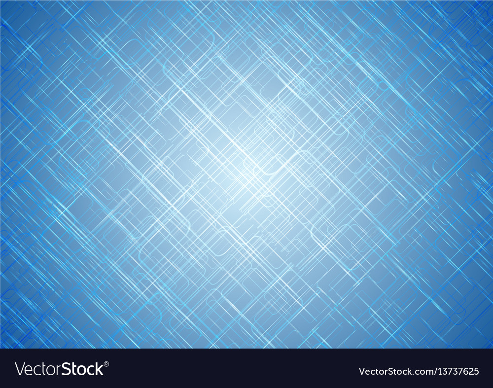 Tech shiny abstract blue background vector image