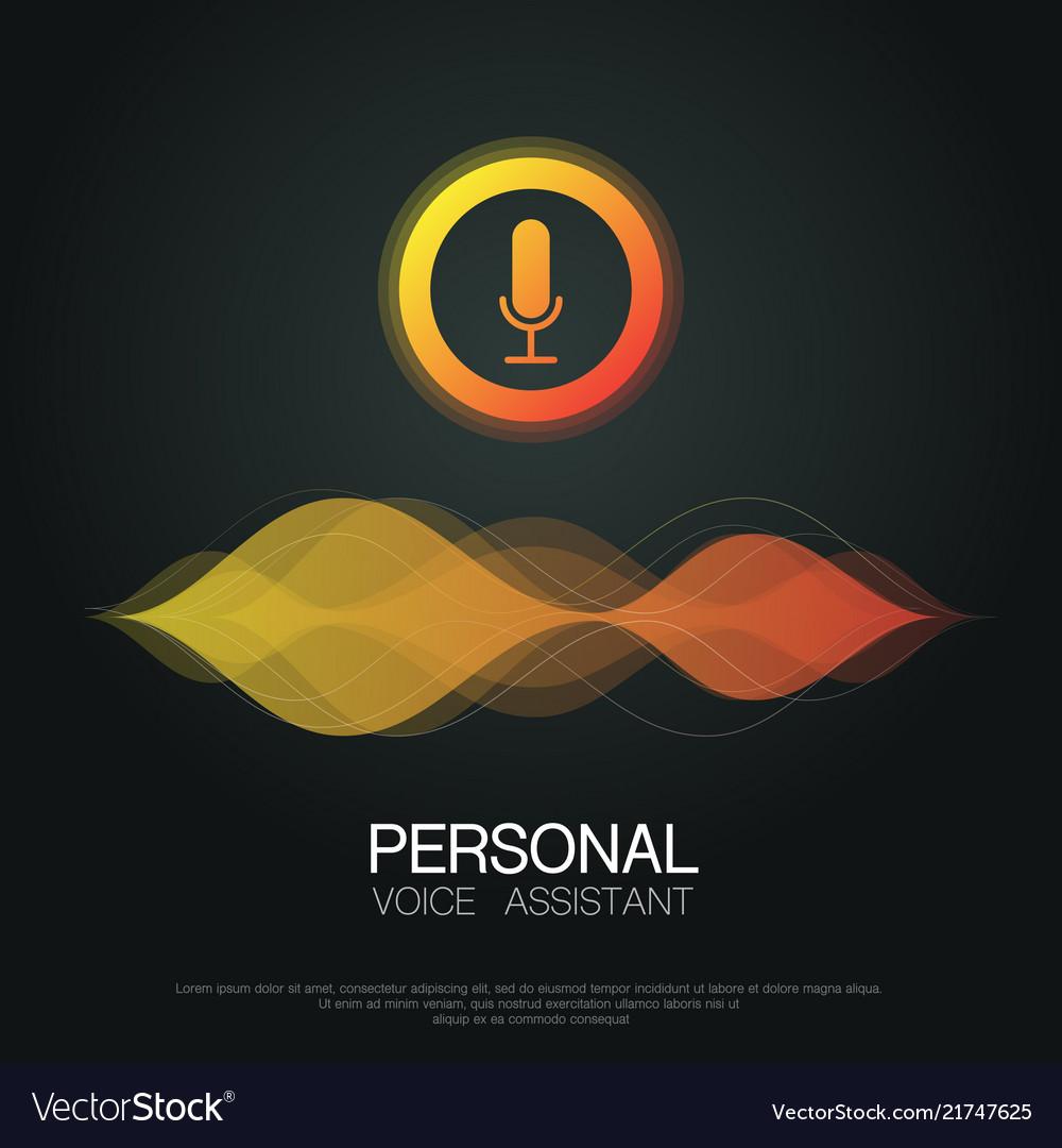Voice assistant background