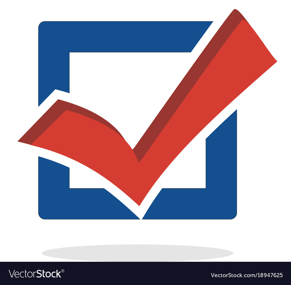 Vote and election vector image