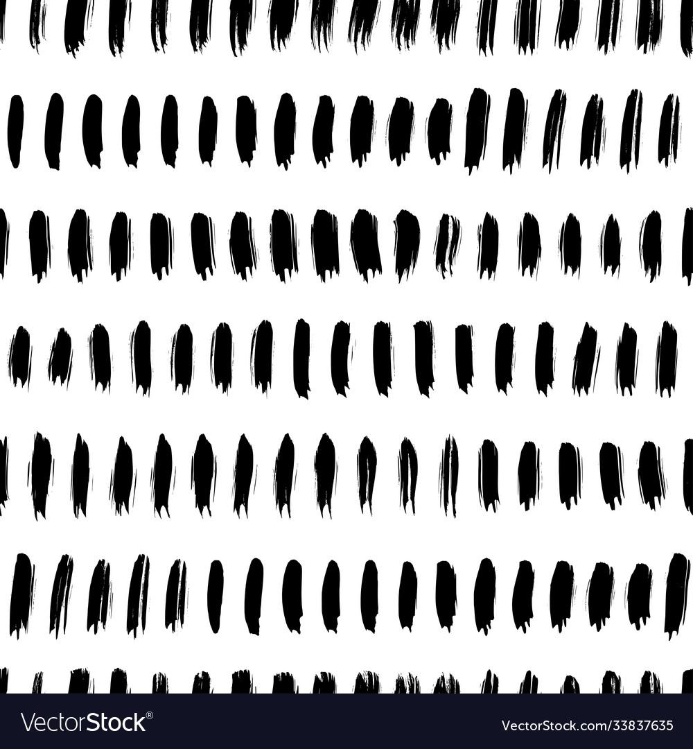 Straight brush lines seamless pattern