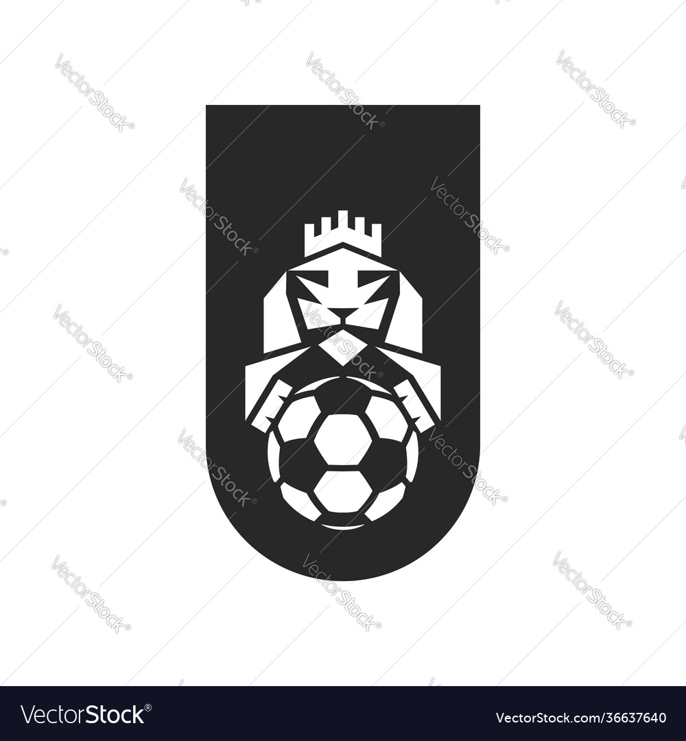 Football club logo sample sports emblem print on