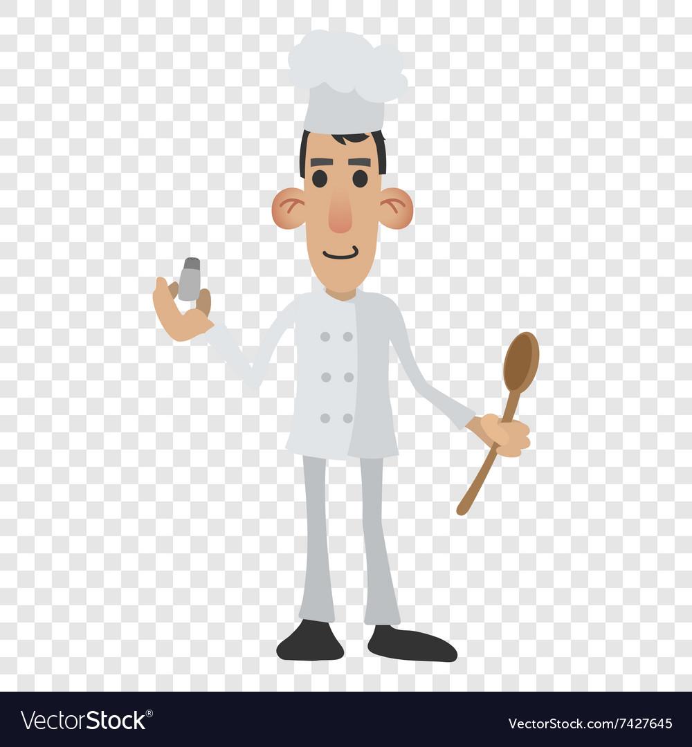 Chef cartoon icon