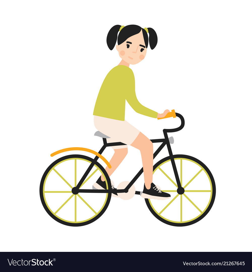 Girl with bike images-5499