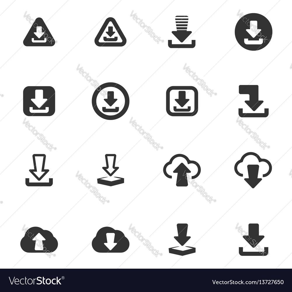 Download icons set