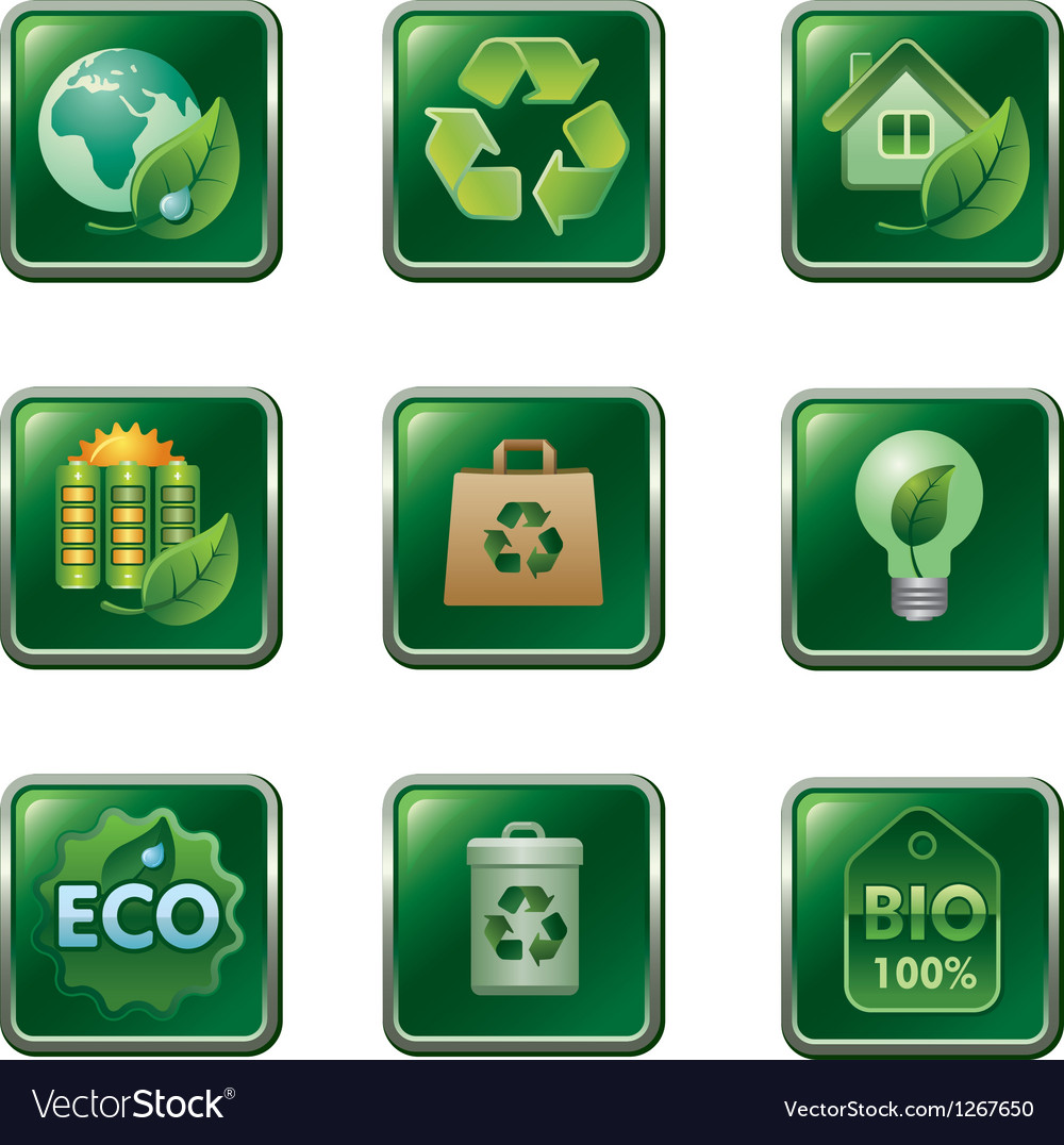 Ecology buttons