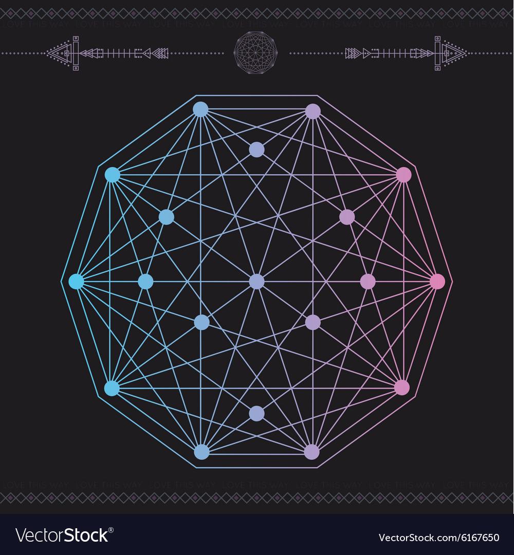 Geometric icon magic 1