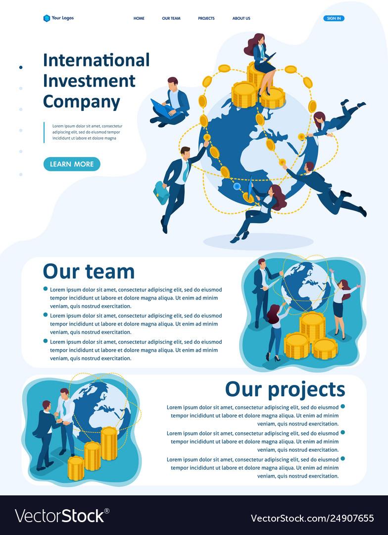 Isometric international investment company