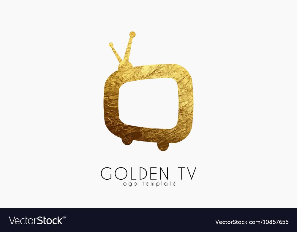 TV logo Creative tv logo design Media design