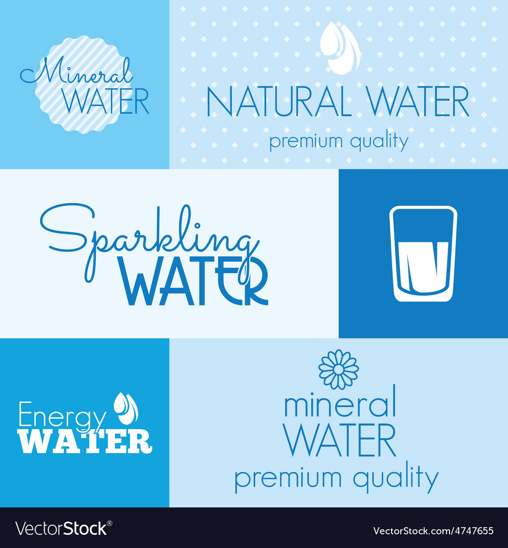 Water label resize