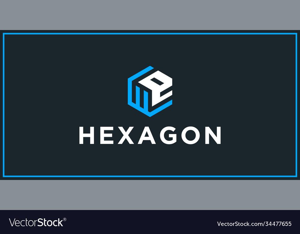 We hexagon logo design inspiration