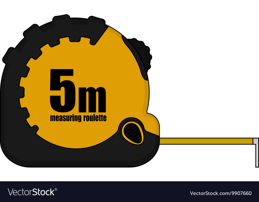 5m Measuring Tape Icon