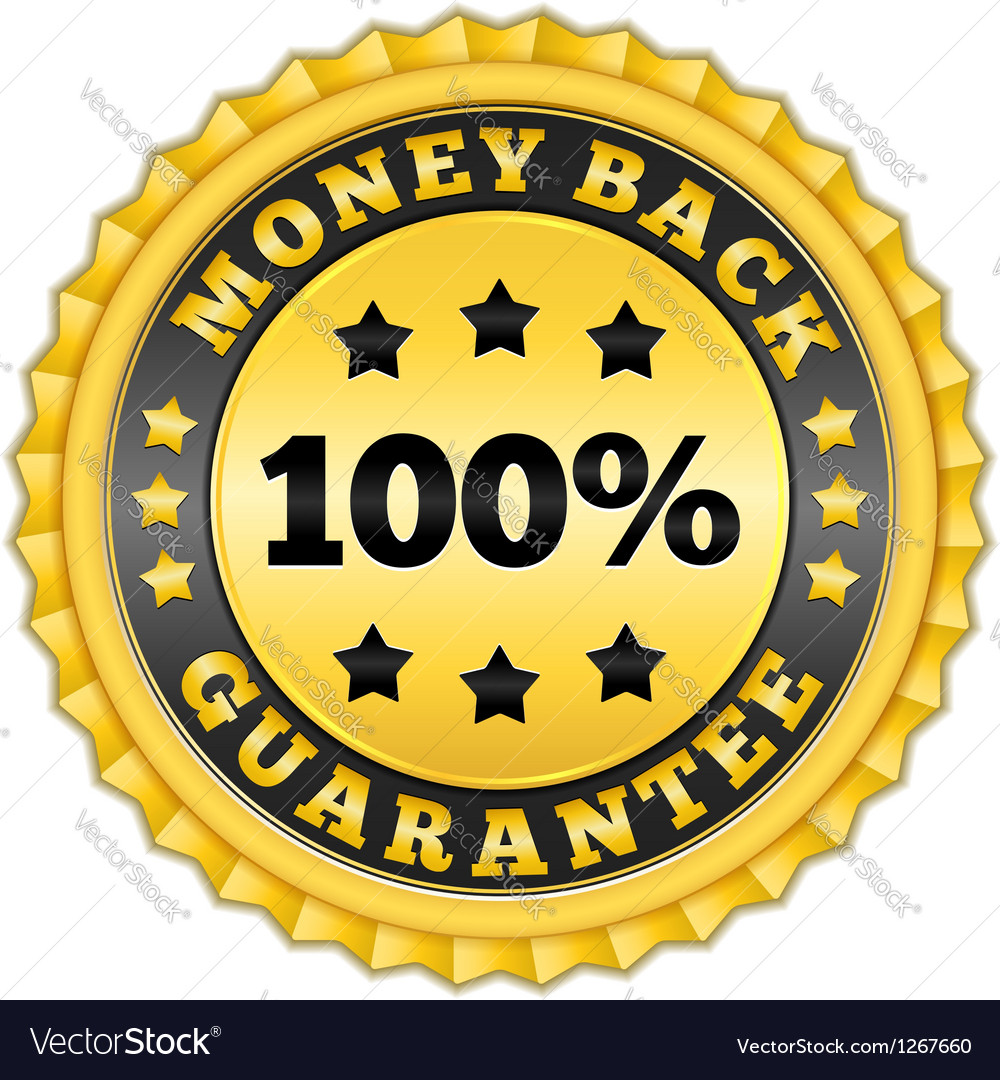 Money Back Guarantee Golden Label