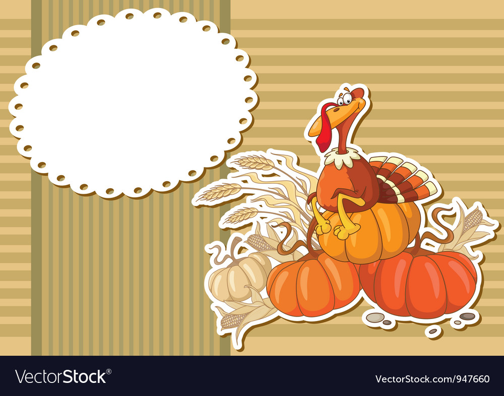 Turkey sticker background