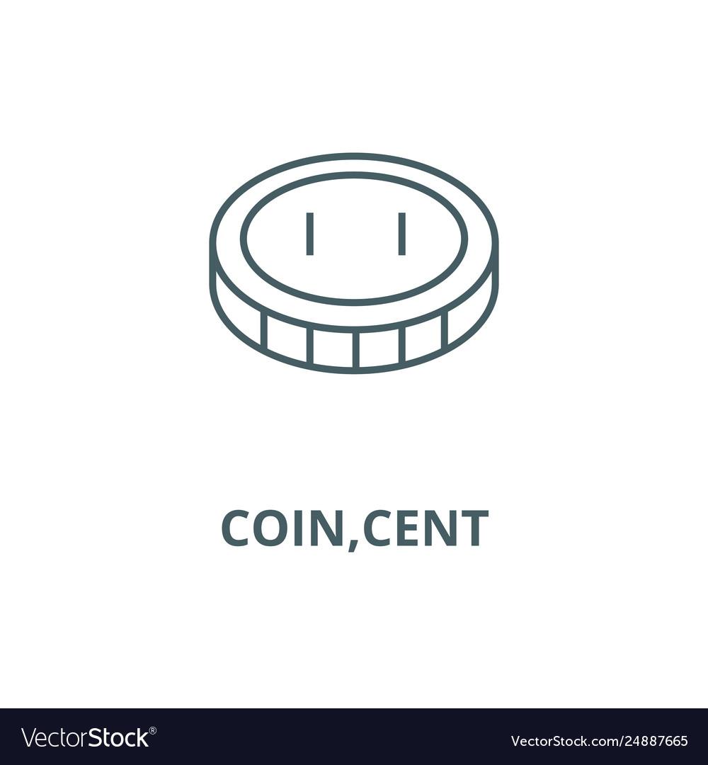 Coincent line icon coincent outline