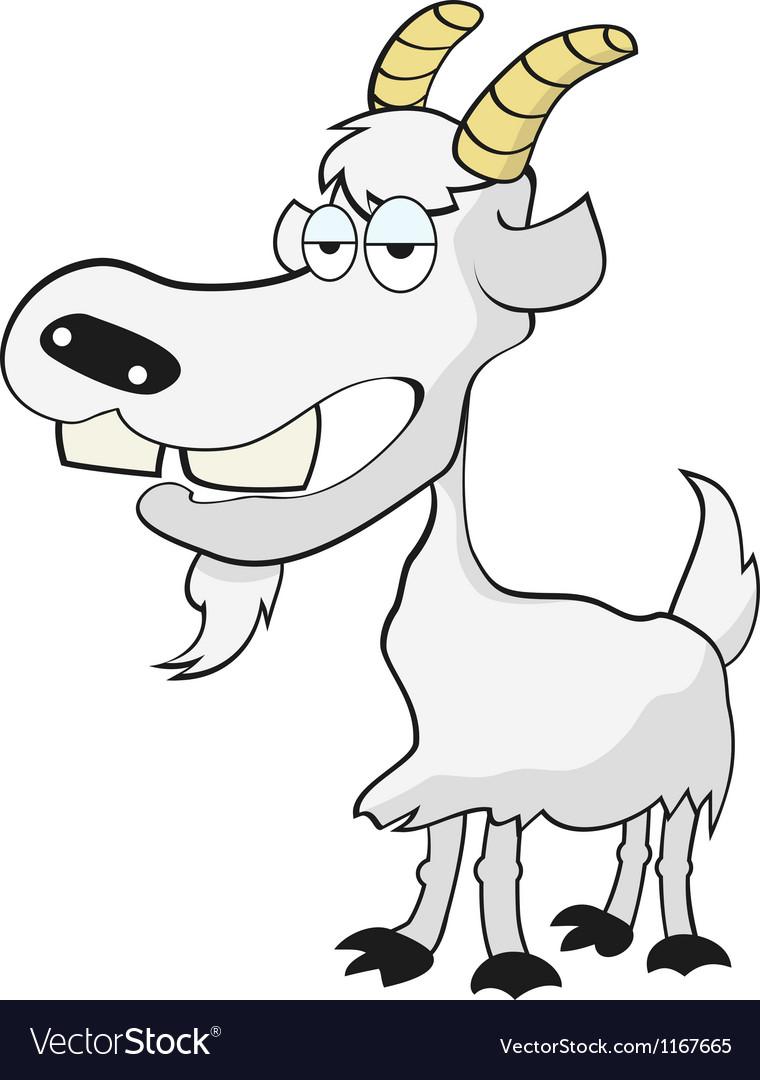 Коза смешные рисунки, день