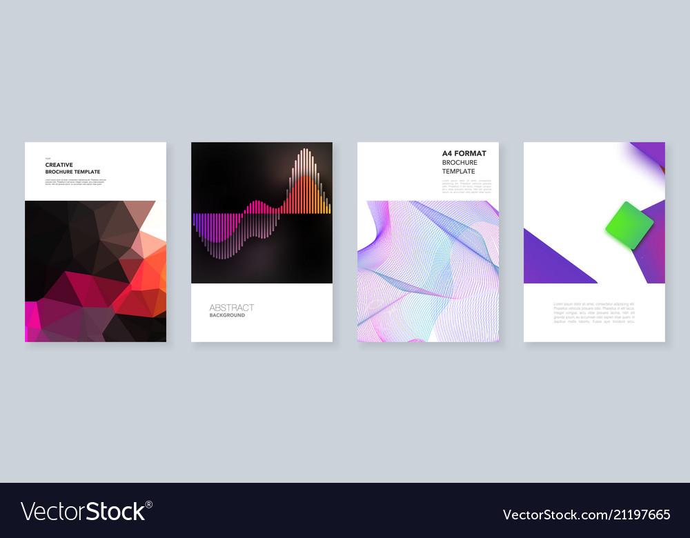 Minimal brochure templates templates for flyer
