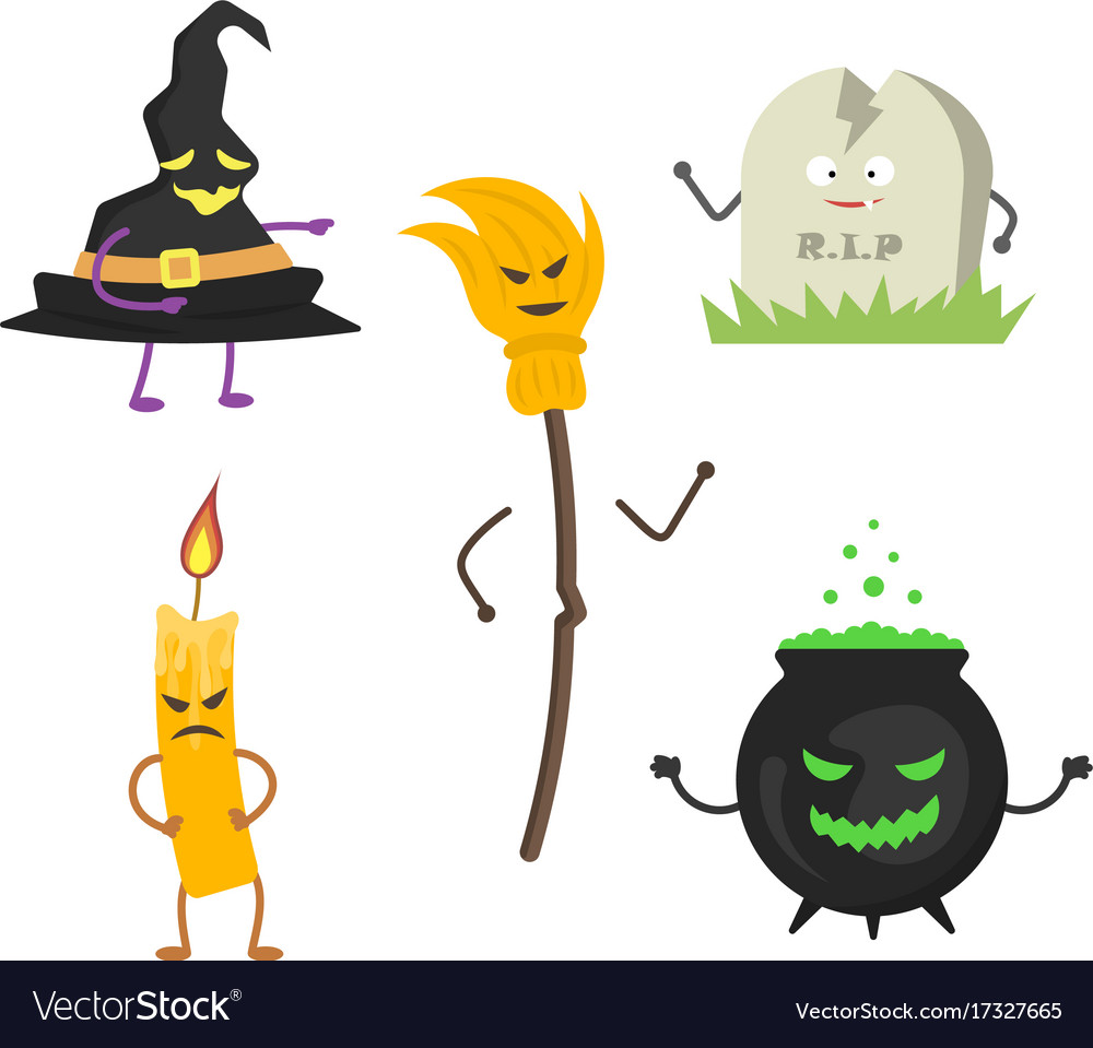 Set of characters for halloween 2