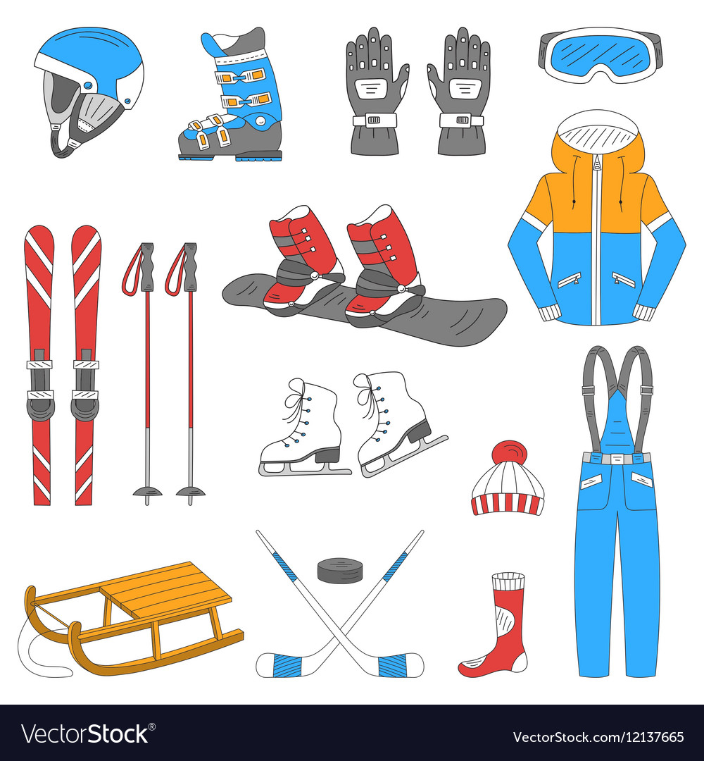 Winter sports collection
