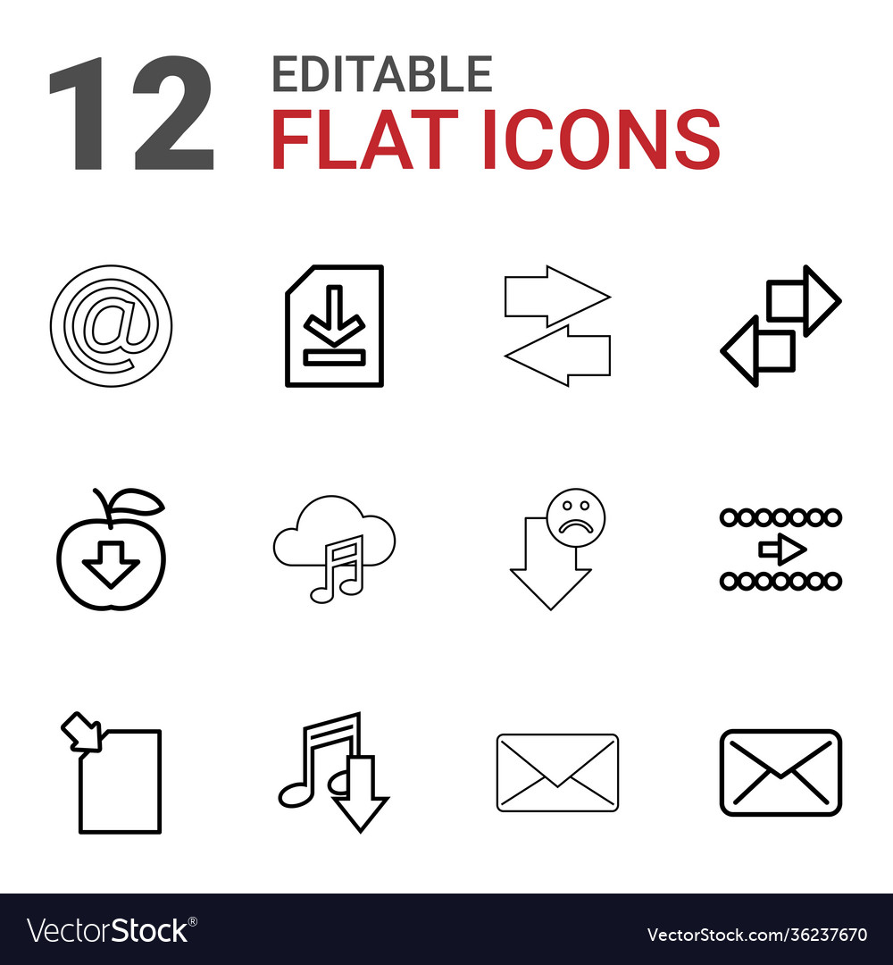 12 download icons