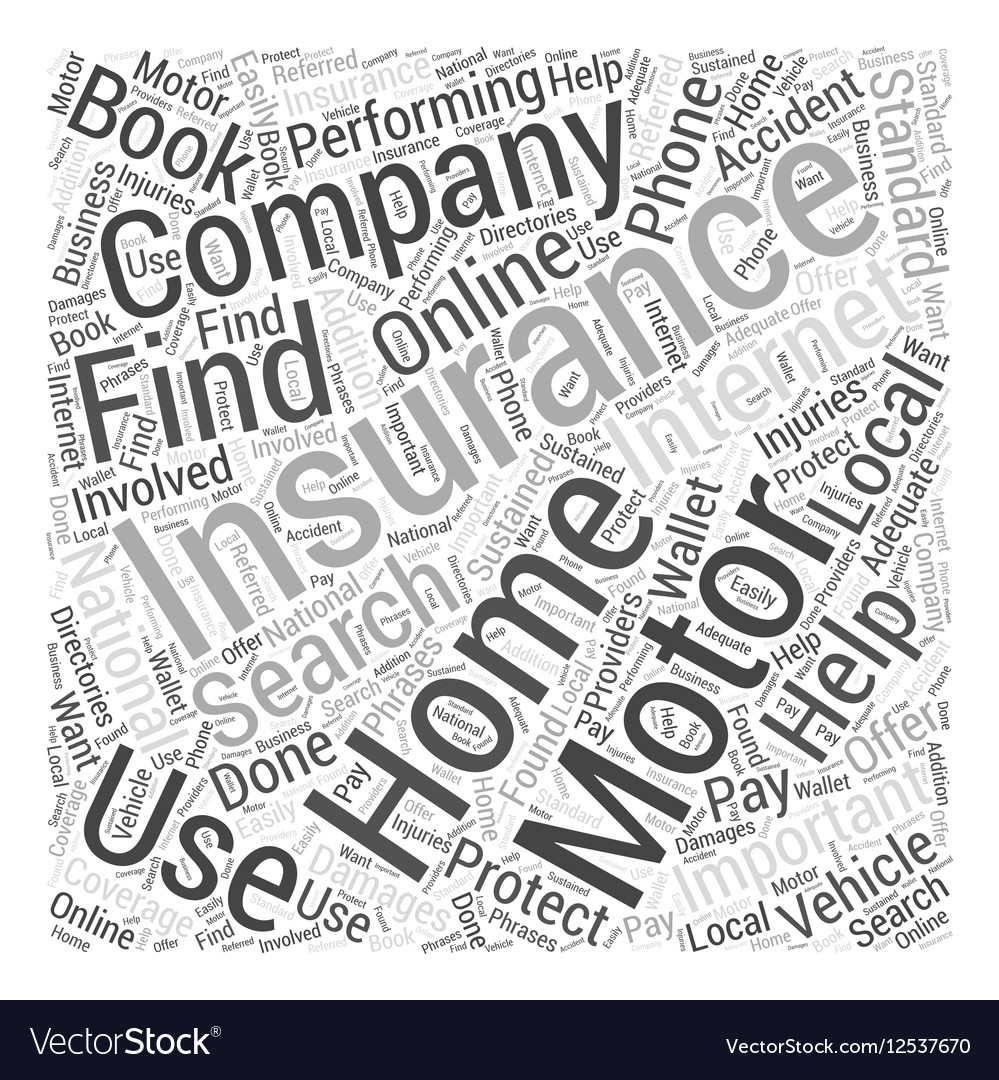 Motor Home Insurance How You Can Get It Word Cloud
