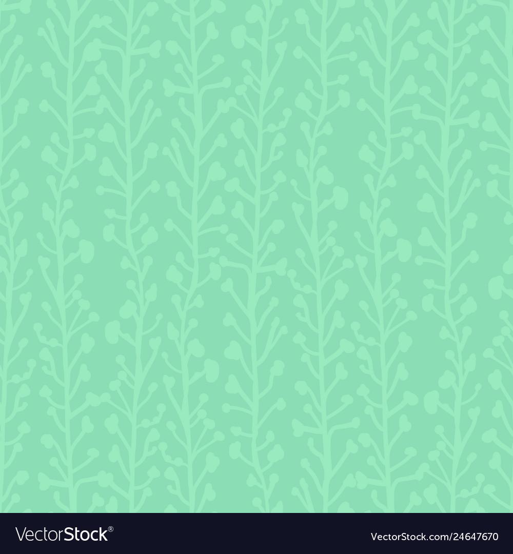 Subtle nature background seamless pattern