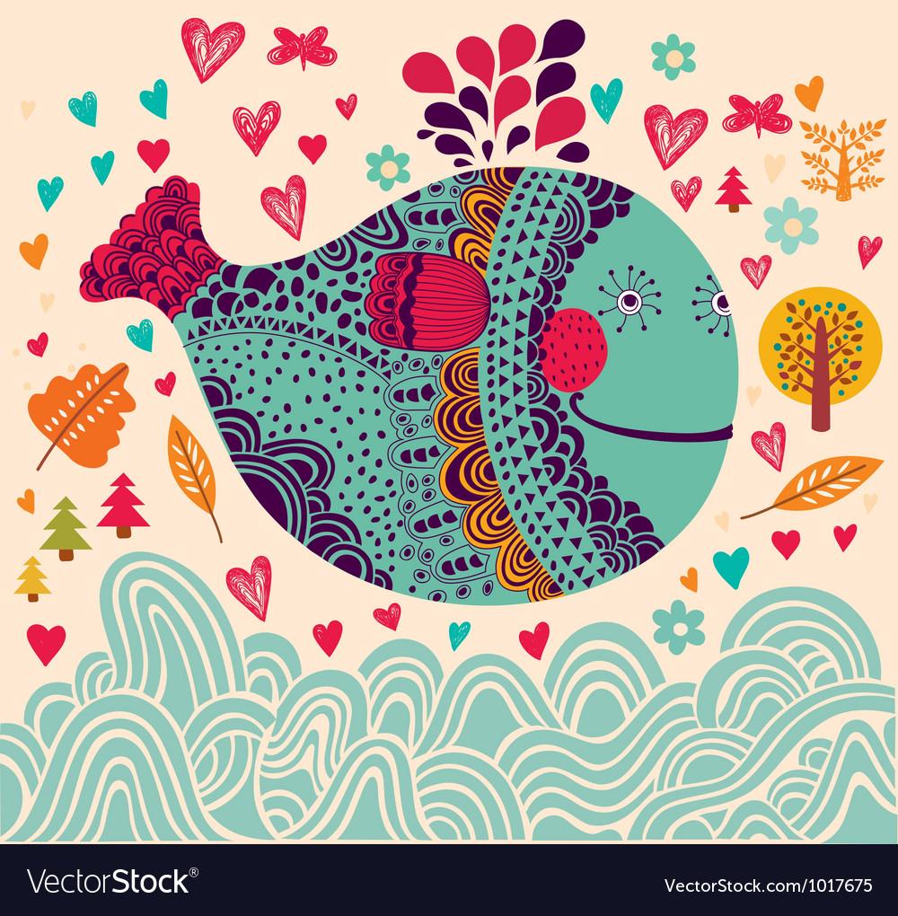 Decorative Fish Background
